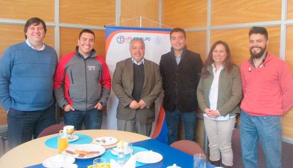 CFT UCEVALPO recibe a Becarios Programa Técnicos para Chile