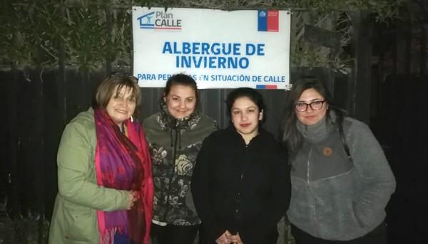 Voluntariado con Programa Noche Digna, La Calera