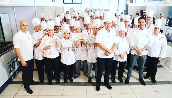 Nuestro Equipo Gastronómico Pasa A Semifinales En Torneo Copa Culinaria Carozzi Fs