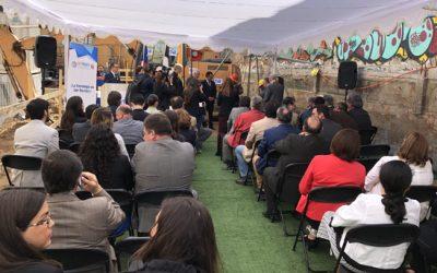 Ceremonia de Colocación de la Primera Piedra de la futura Casa Central de CFT PUCV en Valparaíso