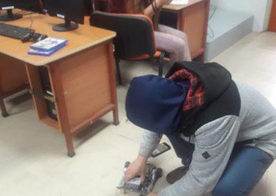 delegado en robotica
