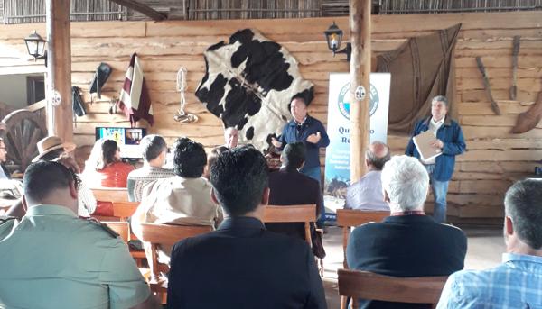 Carrera TNS Turismo y Hotelería presente en Lanzamiento Gremio Turismo Costa Rural de Quintero