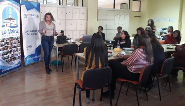 Visita Voluntariado Corporación La Matriz, Sede Viña del Mar