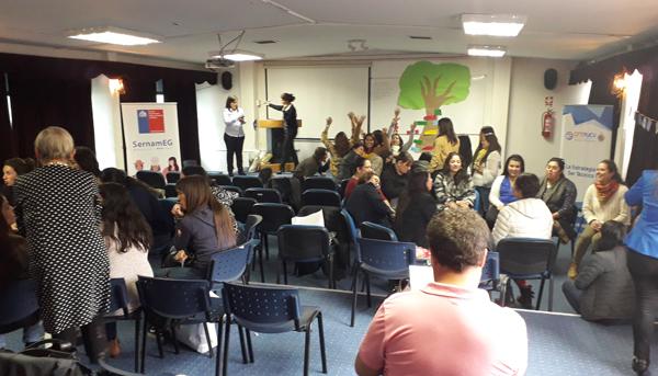 Jornada de Trabajo de Equipos Comunales – Programa Mujeres Jefas de Hogar de la Región de Valparaíso