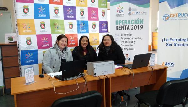 Operación Renta 2019 Campus Limache