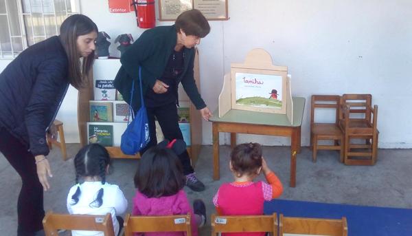 Encuentro Intergeneracional con niños del Jardín Infantil Alegre Despertar