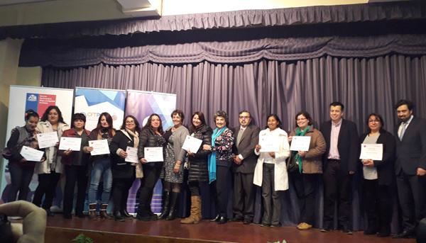 Certificación Programa Mujeres Jefas de Hogar Sernameg – Municipio Viña del Mar