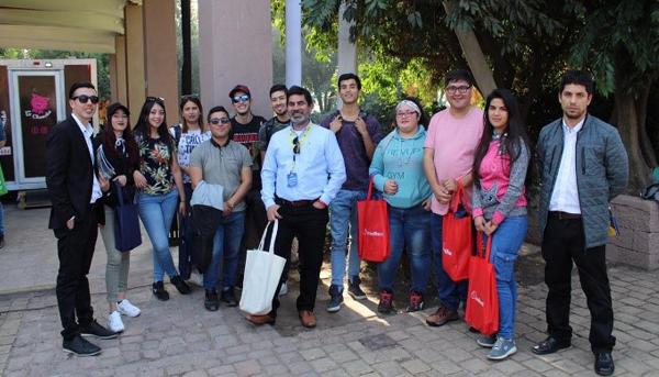 Visitas Alumnos TNS Logística a empresa y feria en Santiago