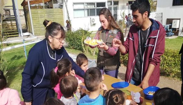 Alumnos de TNS Agrícola del Campus Quillota celebraron a San Isidro Labrador Patrono de los Agricultores