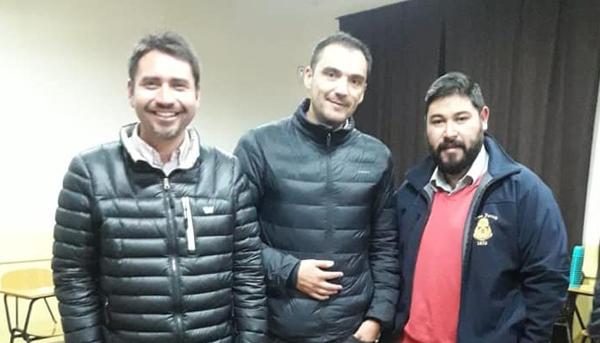 Charla Concejal Johnny Piraíno Meneses, Sede La Calera