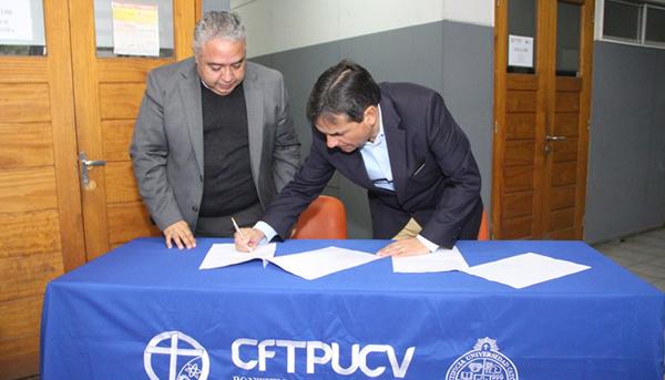 Municipalidad de Quillota y CFT PUCV firman convenio de colaboración e inauguran Taller Comunitario de Promoción de Salud