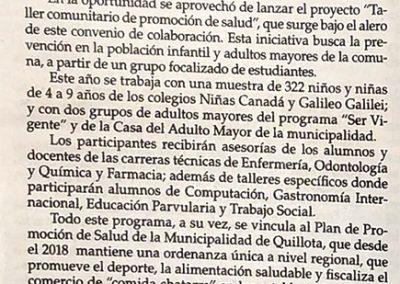 FIRMA CONVENIO MUNICIPALIDAD Y CFT PUCV El OBSERVADOR