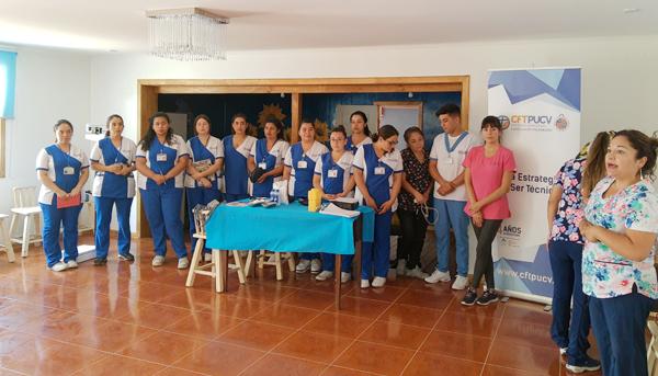 CFT PUCV Campus Quillota Realiza el Primer Operativo de Salud del año en la comuna de La Cruz