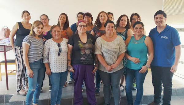 Emprendedoras del sector rural de Tabolango se capacitaron en manipulación de alimentos gracias al CFT PUCV y la Ilustre Municipalidad de Limache