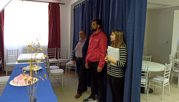 Director Regional de INJUV visita CFT PUCV Sede Viña del Mar