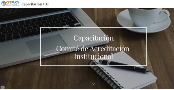 Rector del CFT PUCV da inicio a Curso de Comisión de Acreditación Institucional Interno