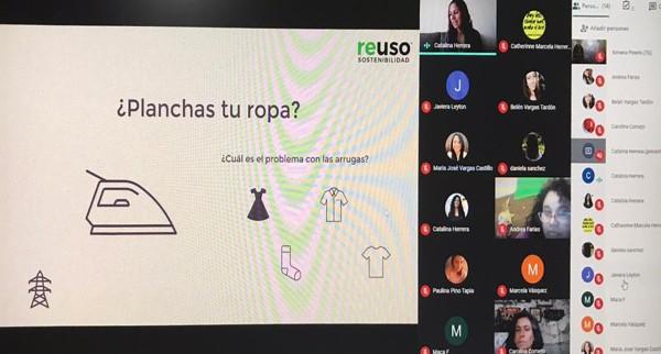 Reuso Chile dictó charla sobre conciencia medioambiental y reciclaje en la industria textil