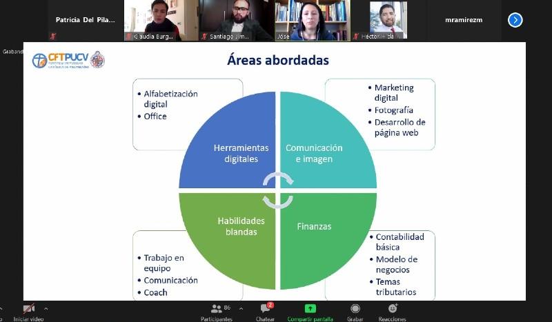 """Vicerrectora de Desarrollo participa como exponente en Seminario Nacional Online de """"Vinculación con el Medio en Tiempos de Pandemia"""" organizado por UNAB"""