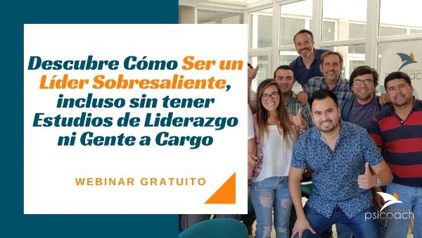 WEBINAR GRATIS: «Liderazgo» / miércoles 8 julio / 15:00 hrs.