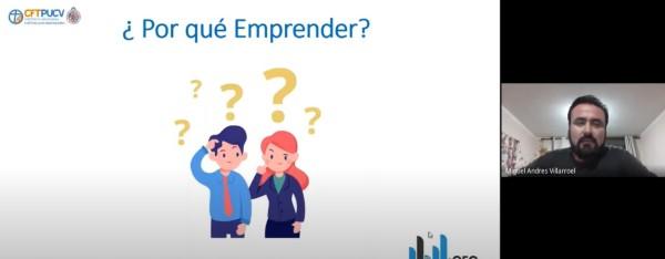 """Emprendedores relatan su experiencia a estudiantes en interesante Conversatorio """"Emprendiendo desde 0"""" del CFT PUCV Campus Limache"""