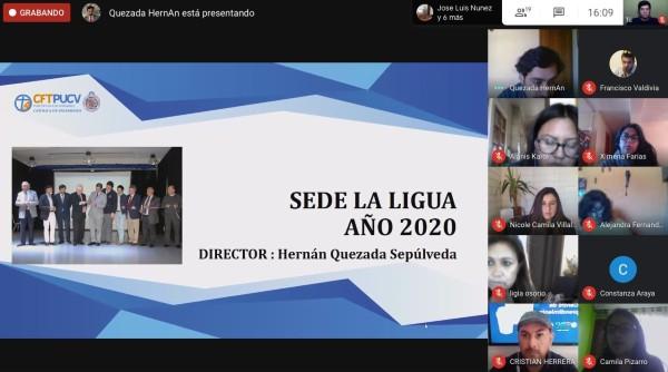 CFT PUCV Sede La Ligua desarrolló su primer Consejo Consultivo del año 2020