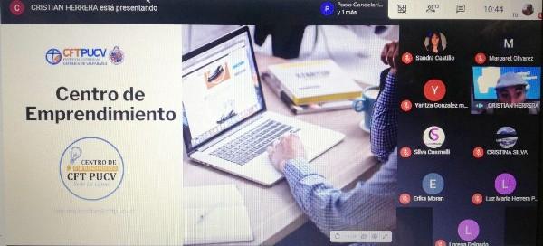 Centro de Emprendimiento Sede La Ligua del CFT PUCV realiza charla sobre sistemas de pagos en línea y despacho a domicilio a PYMES del rubro textil