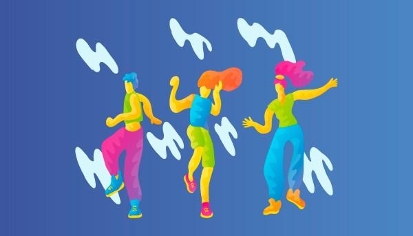 TALLER: Baile Entretenido / desde viernes 17 julio / 18:00 hrs.