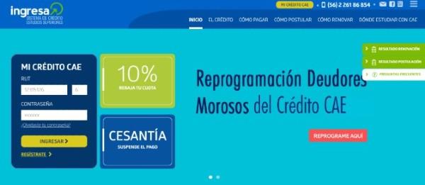 Proceso Reprogramación Deudores Morosos del Crédito Cae