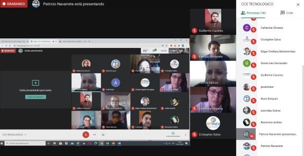 CFT PUCV Campus Quillota realizó Consejo Consultivo Empresarial del Área Tecnológica online