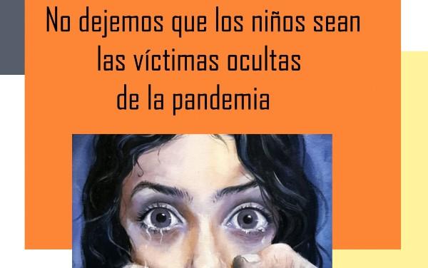 Estudiantes TNS en Educación Parvularia realizan afiches para sensibilizar a la comunidad en temas de maltrato infantil en tiempos de pandemia