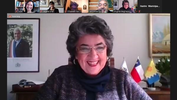 Alcadesa Virginia Reginato agradece trabajo del CFT PUCV con la comunidad emprendedora de Viña del Mar