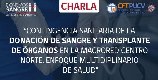 Centro de Sangre de Valparaíso capacitó a estudiantes de TNS en Enfermería sobre donación de sangre y trasplante de órganos