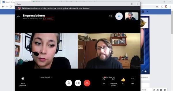 Centro de Emprendimiento CFT PUCV Sede La Ligua visita Radio Dulce para dar a conocer vitrina virtual para emprendedores
