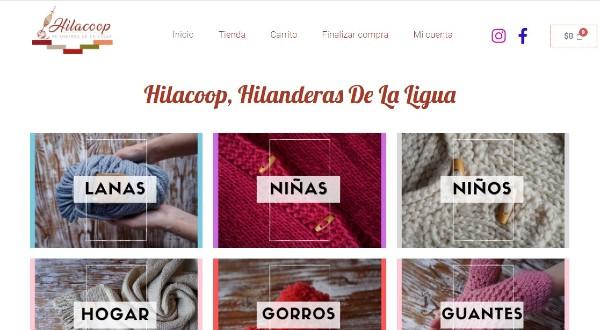 Centro de Emprendimiento CFT PUCV desarrolló tienda virtual para cooperativa de hilanderas de La Ligua