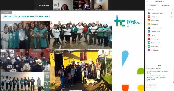 """CFT PUCV Sede La Ligua desarrolló Seminario """"Generando propuestas de apoyo para el adulto mayor en pandemia"""" con distintas entidades regionales"""