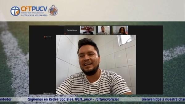 El ex futbolista Waldo Ponce cuenta su experiencia como emprendedor a comunidad CFT PUCV
