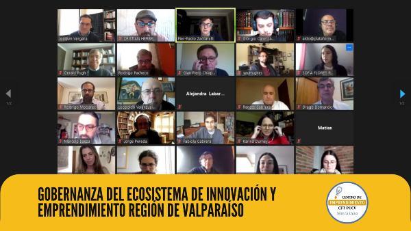 Centro de Emprendimiento CFT PUCV Sede La Ligua es invitado a participar de la Gobernanza del Ecosistema de Innovación y Emprendimiento de la Región de Valparaíso