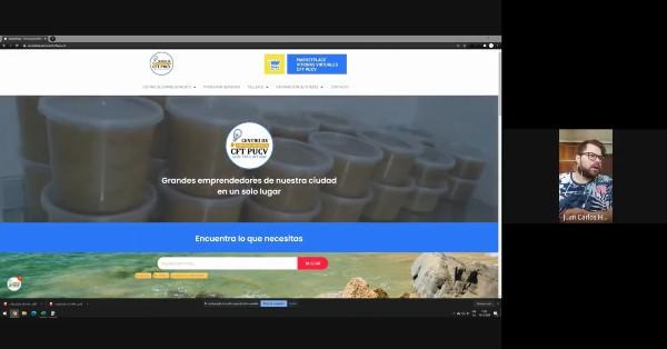 Estudiantes realizan su práctica profesional desarrollando sitios web para Centros de Emprendimiento CFT PUCV de Sede Viña del Mar y Campus Limache