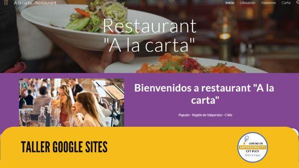 Taller práctico sobre Google Sites ayudó a emprendedores a posicionarse en el medio digital