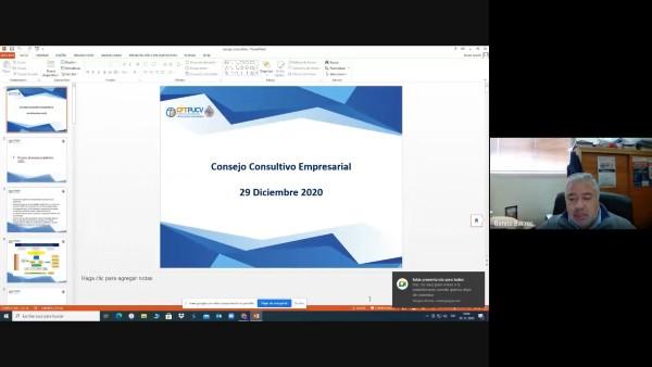 CFT PUCV realiza 2° Consejo Consultivo Empresarial General