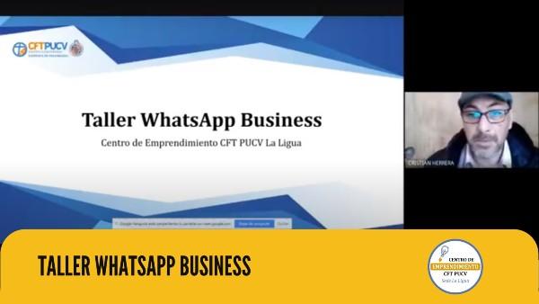 Centro de Emprendimiento de La Ligua realizó taller práctico sobre WhatsApp Business