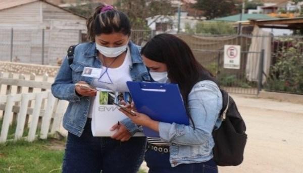 Estudiantes de TNS en Trabajo Social de Sede La Ligua participaron de aplicación de encuesta preparatoria para proyecto de alcantarillado en las localidades de Placilla y La Chimba