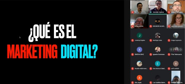CFT PUCV Campus Limache capacitó a 60 emprendedores locales en materias de Marketing Digital