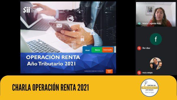 Servicio de Impuestos Internos de La Ligua realizó charla explicativa sobre Operación Renta 2021