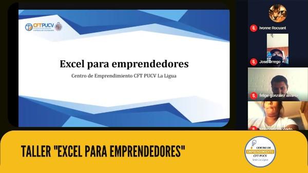Cerca de 200 emprendedores, estudiantes y egresados participaron de Taller Excel para emprendedores