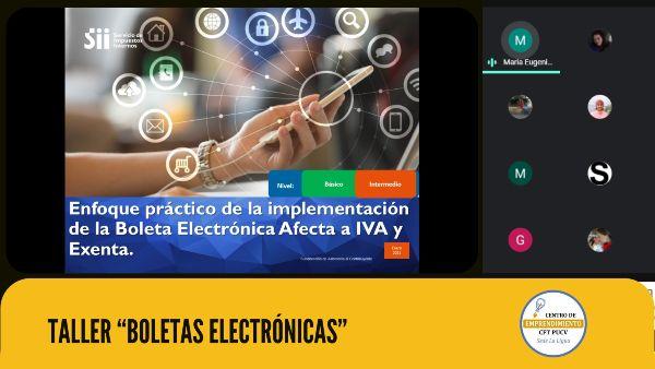 Jefa Provincial del Servicio de Impuestos Internos de la Provincia de Petorca realizó taller sobre boletas electrónicas