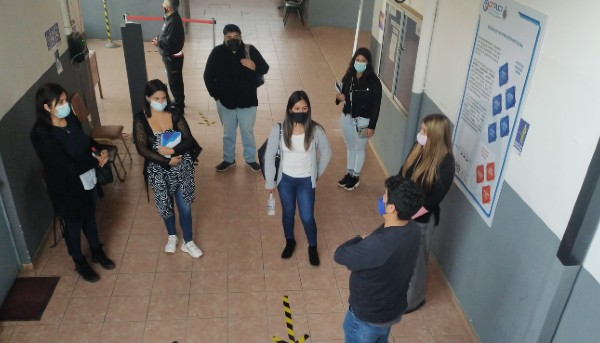 Estudiantes visitan sus Sedes y Campus en el marco del proceso de Acreditación Institucional