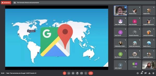 """Taller """"Herramientas de Google"""" organizado por USET CFT PUCV repasó la utilidad de las plataformas gratuitas"""